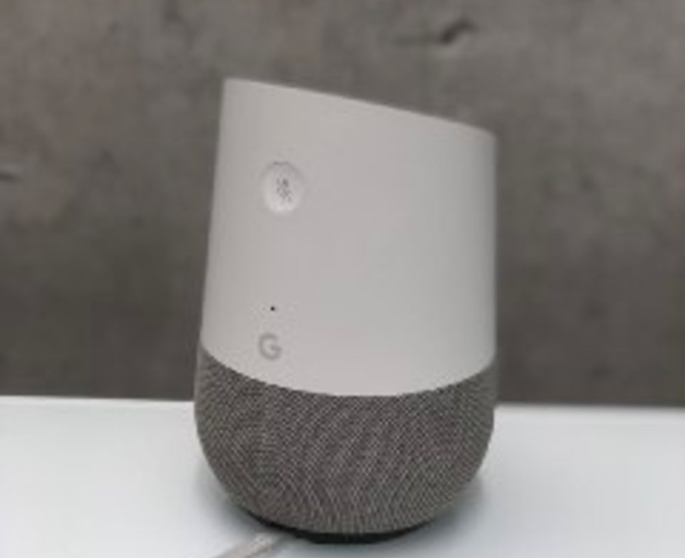 Win a Google Home Assistant